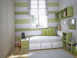 Small Bedroom Designs With Storage  Decorin - Storage designs for small bedrooms
