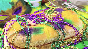 mardi gras table decorations table decorated for mardi gras party stock footage 11628041