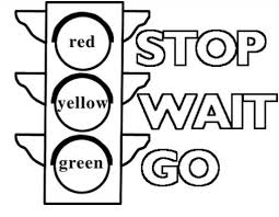 Charming Design Traffic Light Coloring Page The Elegant Pertaining Light Coloring Page