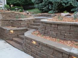 Backyard Retaining Wall Ideas Retaining Wall Ideas For Sloped Backyard Retaining Wall Ideas