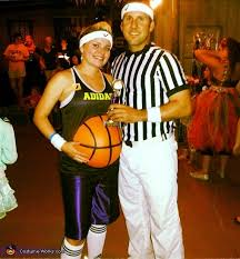 Ref Costumes Halloween Belly Baller U0026 Ref Pregnant Halloween Costume Idea Couples