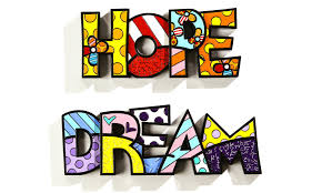 romero britto romero britto hope u0026 dream word art set b h d 179 99 romero