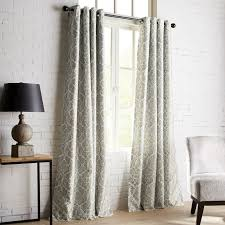 Pier One Paisley Curtains by Mota Gray Grommet Blackout Curtain Pier 1 Imports