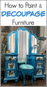 How To Paint And Stencil by 378 Best Painted Furniture Images On Pinterest Painted Furniture