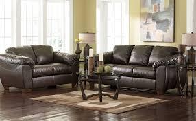 North Shore Dark Brown Sofa Living Room Ashley Furniture Leather Sofa Sets Ashley Furniture