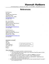 How Many References On Resume How To Write References In A Resume How To Write References Resume