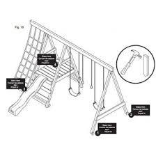 Backyard Swing Set Plans by Best 20 Wooden Swing Set Plans Ideas On Pinterest Swing Set