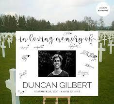 memorial service sign in book funeral guest book sign memorial service guest book ideas memorial