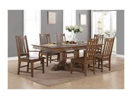 Mission Dining Room Chairs Flexsteel Wynwood Collection Sonora Mission Formal Dining Table