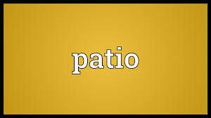 patio meaning youtube