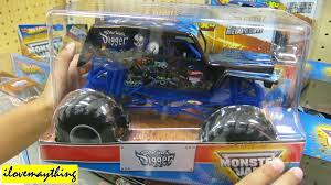 monster truck youtube videos unboxing son uva digger monster jam diecast toy truck youtube