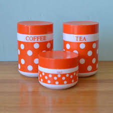 retro kitchen canisters set shop retro kitchen canisters on wanelo