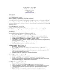 Physics Resume Geology Resume Coinfetti Co