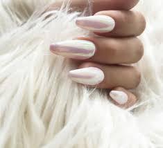 mirror nails art make cool metallic or chrome nail design ladylife