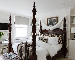 mirrored four poster bed houzz