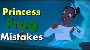 disney u0027s princess frog movie mistakes missed