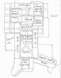 Williamsburg Maps And Orientation Williamsburg Virginia by Landmarks And Neighborhoods In Eighteenth Century Williamsburg A