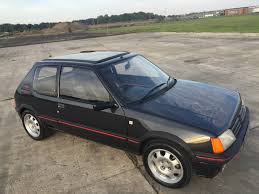 peugeot fire 1987 peugeot 205 gti u2013 digestible collectible