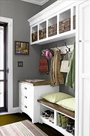 Entryway Storage Bench Entryway Storage Bench And Wall Cubbies Image U2014 Railing Stairs And