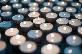 photo of field of christmas candles free christmas images