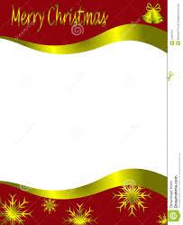 christmas letterhead template