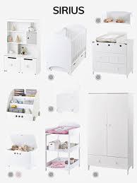 chambre b b vertbaudet lit bébé à barreaux ligne sirius blanc vertbaudet