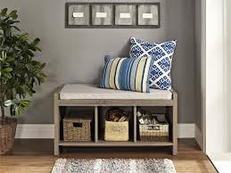 Hallway Storage Bench Bench Awesome Rustic Storage Bench Industrial Rustic Hallway