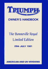 triumph bonneville royals