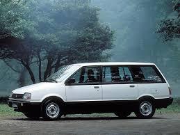 mitsubishi van 1988 технические характеристики mitsubishi мицубиси space wagon 2 0 5