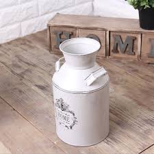 rustic milk jug can vase french country style home decor primitive
