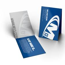 foldable business card printing m13 graphics