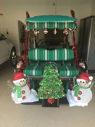 decorate a golf cart for christmas my web pages pinterest