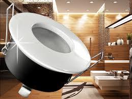 einbaustrahler badezimmer 5w led bad einbaustrahler 230volt wasserdicht ip54