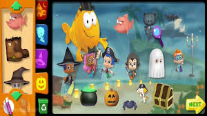 bubble guppies full game episode of halloween complete walkthrough