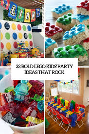 kids party ideas 32 bold lego kids party ideas that rock shelterness