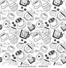 hand draw black white funny sketch stock vector 360382325