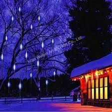 led meteor shower tube lights led meteor shower light outdoor meteor snow shower christmas lights