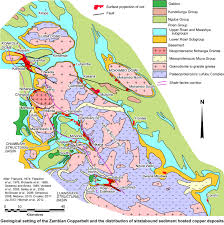 Map Of Zambia Porter Geoconsultancy Ore Deposit Description