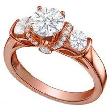 pink gold engagement rings engagement rings polyvore