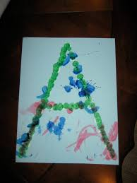 letter a art projects for toddlers u2014 english