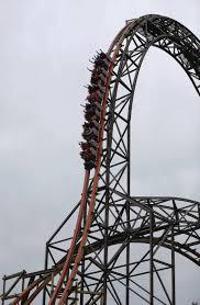 6 Flags In Chicago Goliath Roller Coaster Chicago Tribune