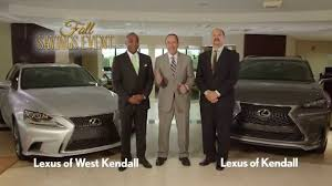 lexus of kendall fall into savings at lexus of kendall