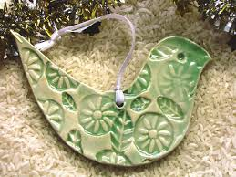 jan wallace pottery christmas decorations ready for next craft market
