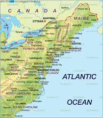 map eastern usa states cities information about atlantic canada road map us eastern seaboard