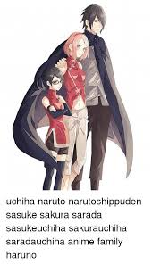 sasuke and sakura uchiha narutoshippuden sasuke sarada sasukeuchiha