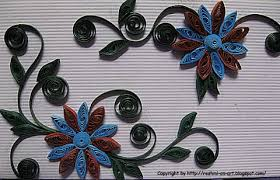 Flower Designs On Paper Quilling Patterns And Designs Design On Envelope Calligraphy