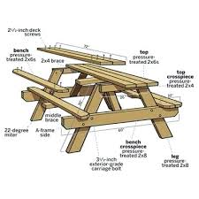picnic table bench plans picnic bench plans rustic picnic tables log octagon picnic tables