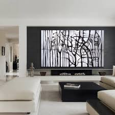 custom abstract painting black and white painting black and