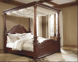 king canopy bed iron leann graceful scroll iron metal