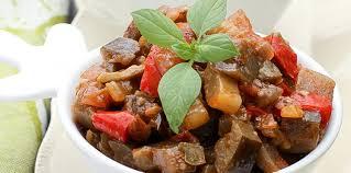 cuisine sicilienne caponata sicilienne facile et pas cher recette sur cuisine actuelle